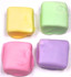 Sugar Free Chocolate Covered Marshmallows, Easter Pastel Colors, Set of 4, Acetate Bagged w/bow 2.2 oz
