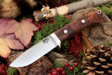 Bark River Classic Drop Point Hunter A2 Desert Ironwood Burl #1