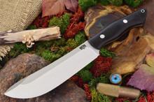 Bark River Kalahari Hunter II Black Canvas Micarta