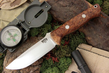 Bark River Knives - Bravo 1 - CPM 3V - Australia Gum Burl