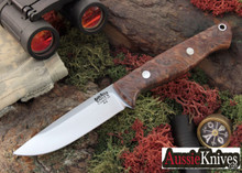 Bark River Knives Gunny Hunter - A-2 - Redwood Burl