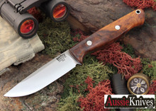 Bark River Knives: Gunny Hunter - A-2 - Desert Ironwood Burl - #1
