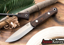Bark River Knives: Bushcrafter - CPM-154 - Desert Ironwood #1