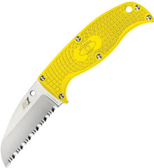 Spyderco Enuff Salt Yellow.