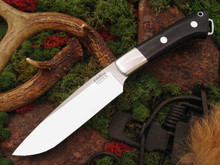 Bark River Magnum Fox River - A2 - Black Canvas Micarta with bolster
