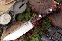 Bark River Bravo 1 - CPM 3V - Lava Flow Kirinite.  Field version