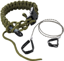CRKT Onion Para-Saw Bracelet - Green LARGE