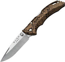 Buck Bantam BBW - Copperhead snakeskin handles.