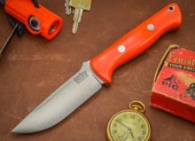 Bark River Bravo 1. Blaze Orange G-10