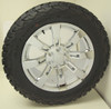"New Set of 4 Chrome 20"" Eight Spoke Wheels with BFG KO2 A/T Tires for Chevy Trucks or SUVs"