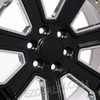 """New Set of 4 Gloss Black 20"""" With Chrome Inserts Wheels with Cooper Tires for GMC Trucks or SUVs"""