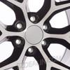 "New Set of 4 Black and Machine 20"" Snowflake Wheels for GMC Sierra, Yukon, Denali"