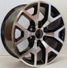 "New Set of 4 Black and Machine 22"" Honeycomb Wheels for GMC Sierra, Yukon, Denali"