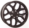 "20"" satin black snowflake for GMC Trucks and SUVs"