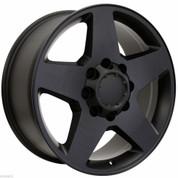 """2001-2010 Chevy 2500 HD Black 20"""" 8 Lug Wheels"""
