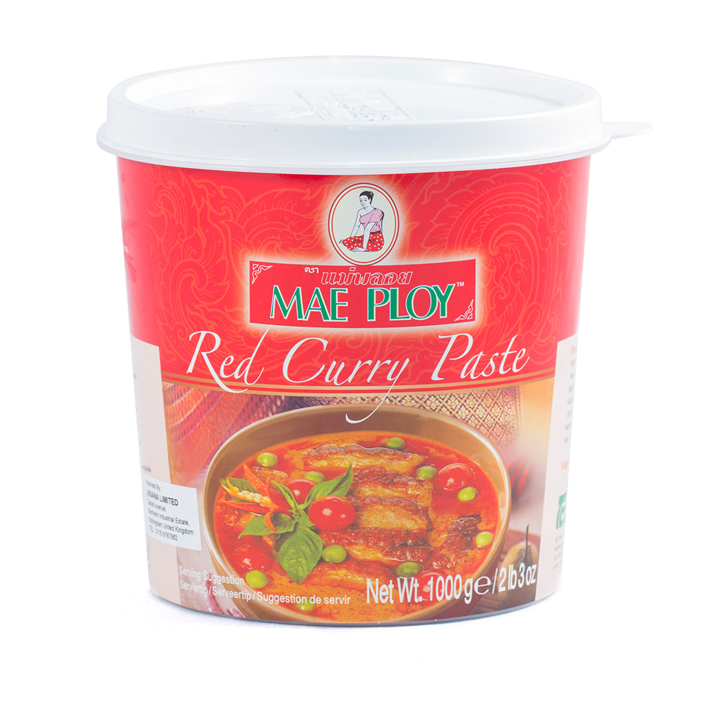 Curry Paste Mae Ploy - Red 1kg - Infusions4chefs