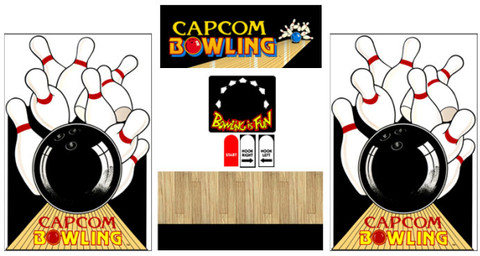 Capcom bowling graphic restore kit