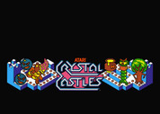 Crystal Castles Video Arcade Marquee