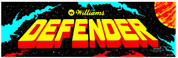 Defender Video Arcade Marquee