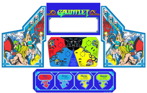 Gauntlet graphic restoration 5 piece kit