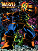 Marvel Super Heroes Video Arcade Side Art
