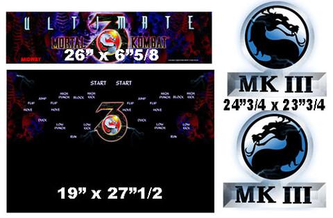 Mortal Kombat 3 Ultimate graphic restore kit