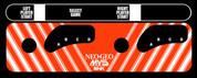 NEO GEO MVS Control Panel Overlay