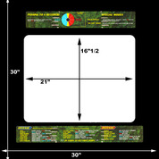 NFL Blitz 99 Upright Monitor Bezel Graphic