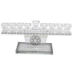Hanukkah Menorah Crystal Elegant 23*17 CM