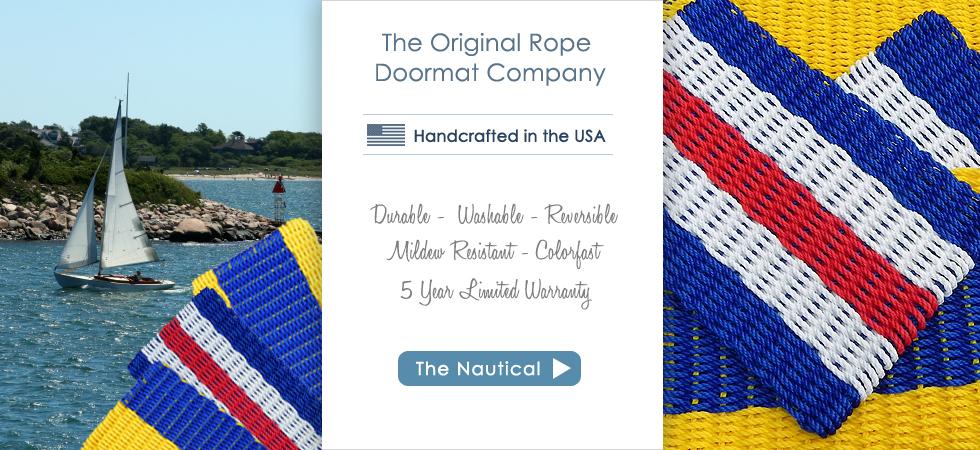 Cape Cod Doormats   The Original Rope Doormat Company   Made In USA