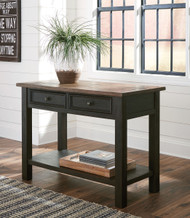 Tyler Creek Grayish Brown/Black Sofa Table