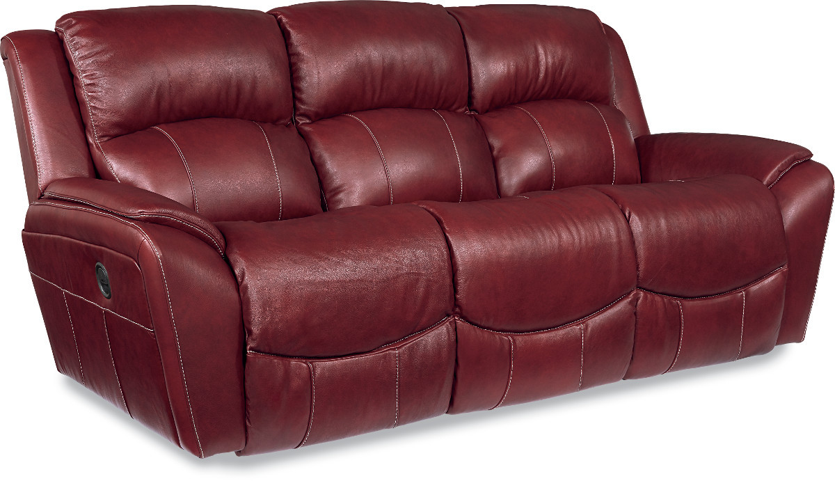 The Barrett Power La Z Time Full Reclining Sofa Sold At Rose Brothers Furniture Serving
