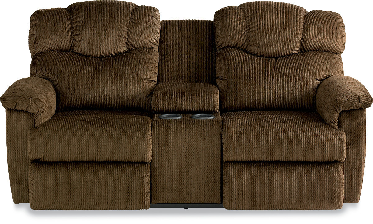 The Lancer La Z Time Full Reclining Loveseat With Middle Console Sold At Rose Brothers Furniture