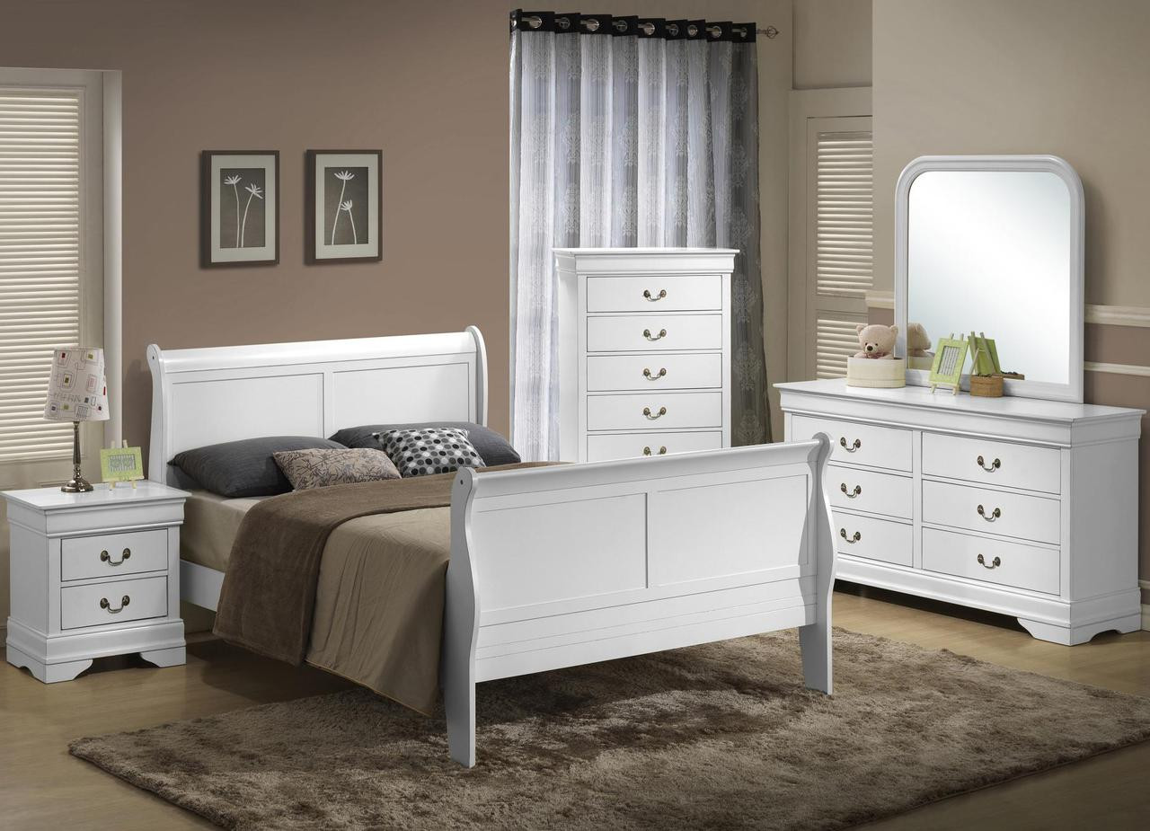 The 5939 Sleigh Wood Queen Bed Sold At Rose Brothers