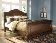 North Shore King Sleigh Bed