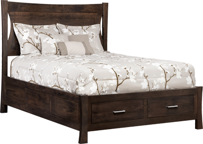 The Transitions Panel Queen Bed Sold At Rose Brothers Furniture Serving Wilmington And