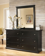 Maribel Black Dresser