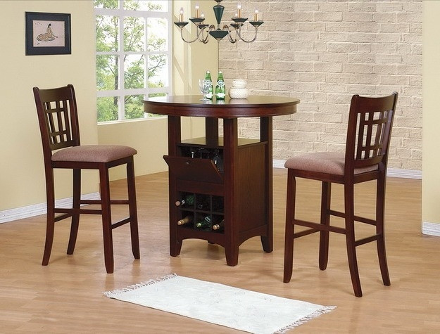 The miyangi bar height group sold at rose brothers for Dining room tables jacksonville nc