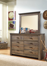 Trinell Brown Kids Dresser