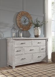 Brashland White Dresser