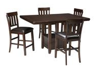 Haddigan Dark Brown 5 Pc. Rectangular Dining Set