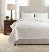 Dietrick Ivory King Quilt Set