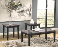 Maysville Occasional Tables (Set of 3): Black