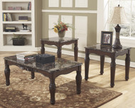 North Shore Occasional Tables (Set of 3): Dark Brown