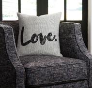 Mattia White/Black Pillow