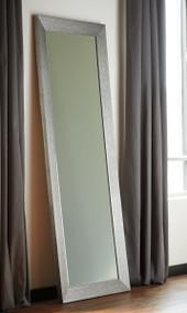 Duka Silver Finish Accent Mirror