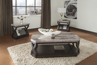 Radilyn Occational Table Set of 3: Grayish Brown