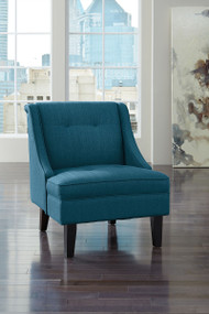 Clarinda Blue Accent Chair