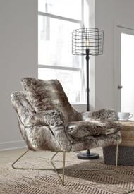 Wildau Gray Accent Chair