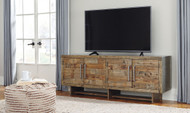 Mozanburg Rustic Brown Extra Large TV Stand
